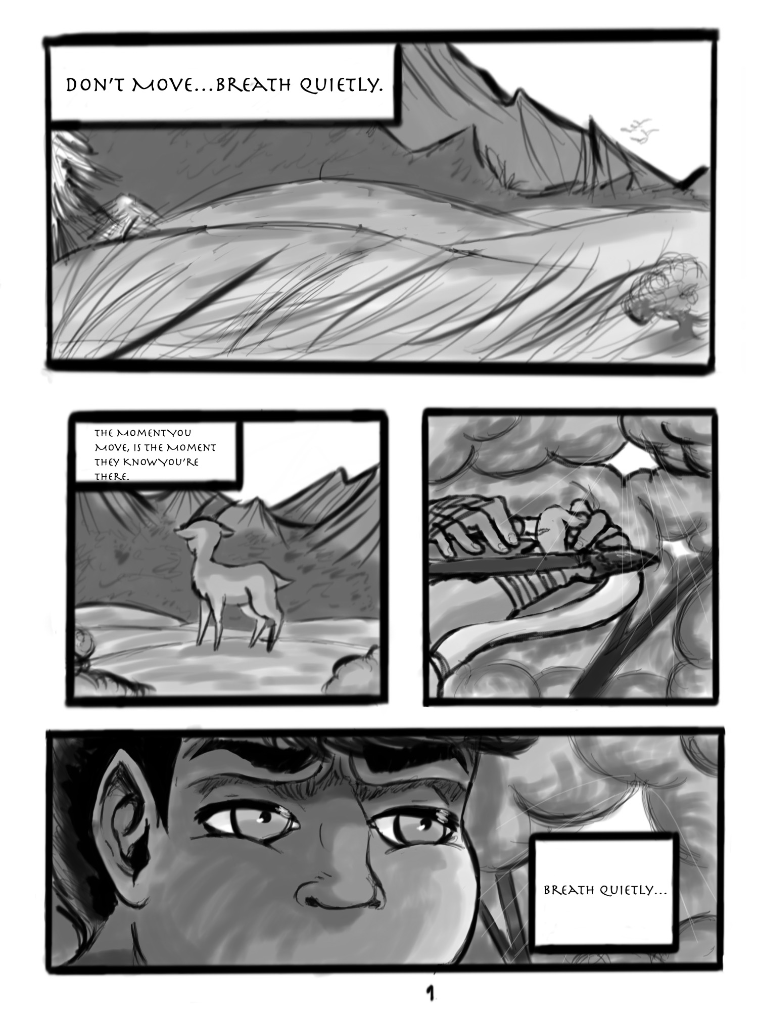 Bad Omen Page 1