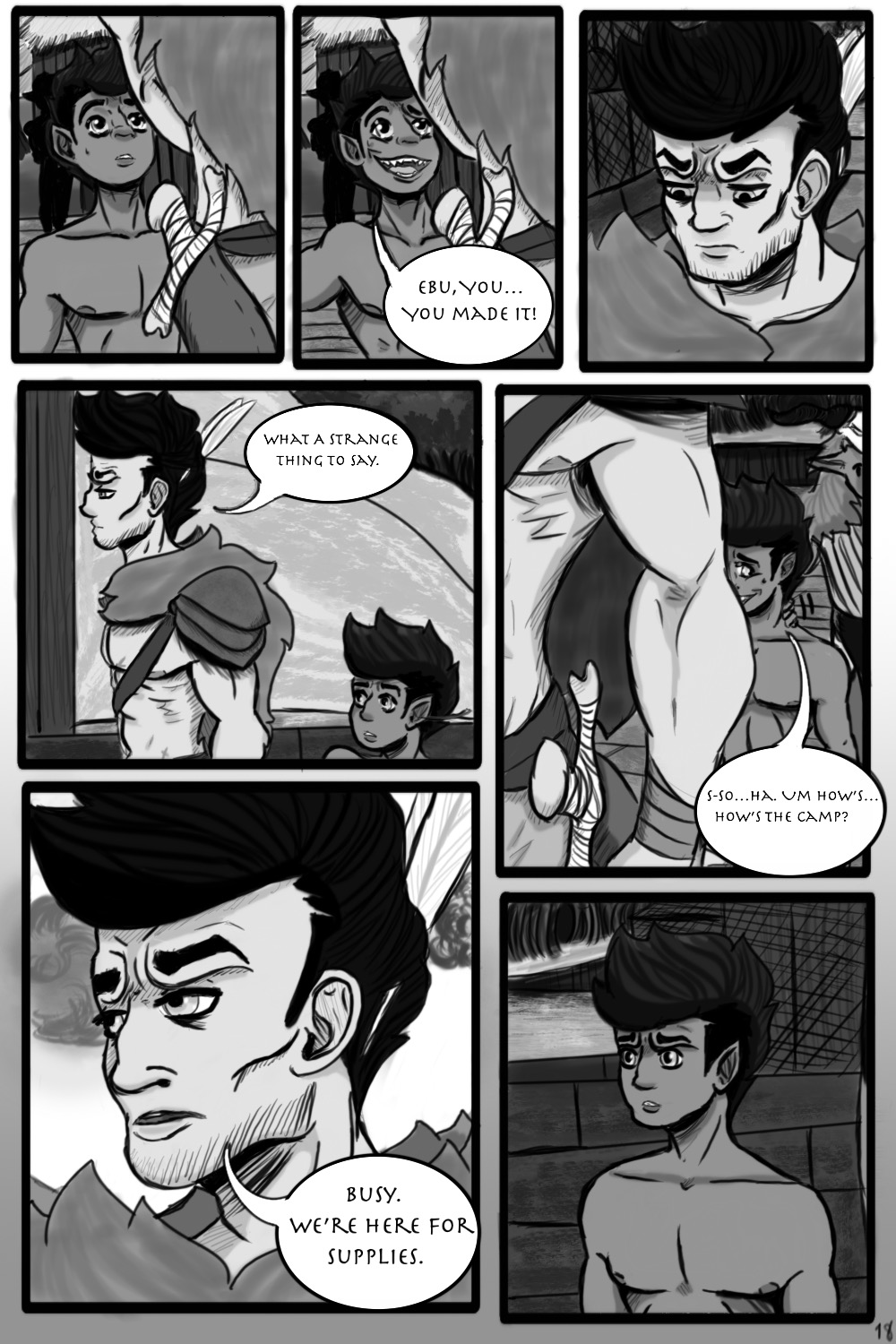 Bad Omen Page 18 (For Real)